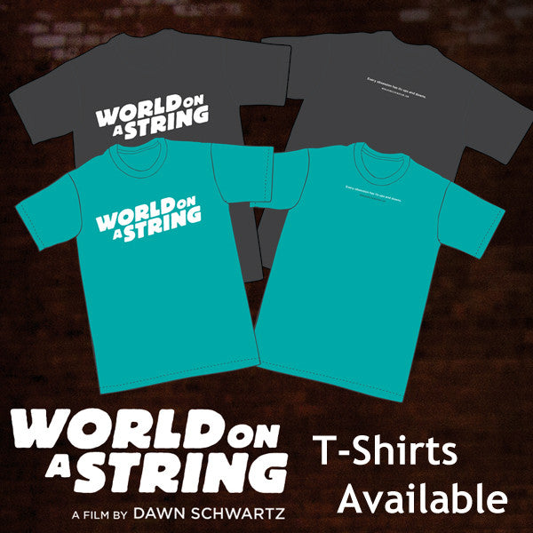 WORLD ON A STRING T-Shirt-1