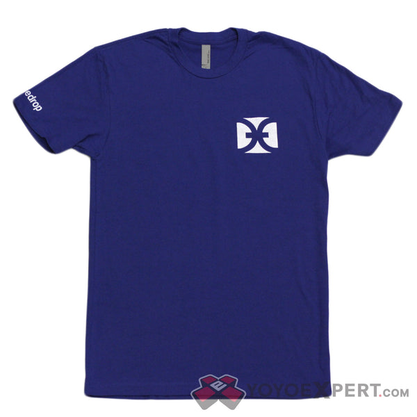 One Drop Blue Logo T-Shirt-2
