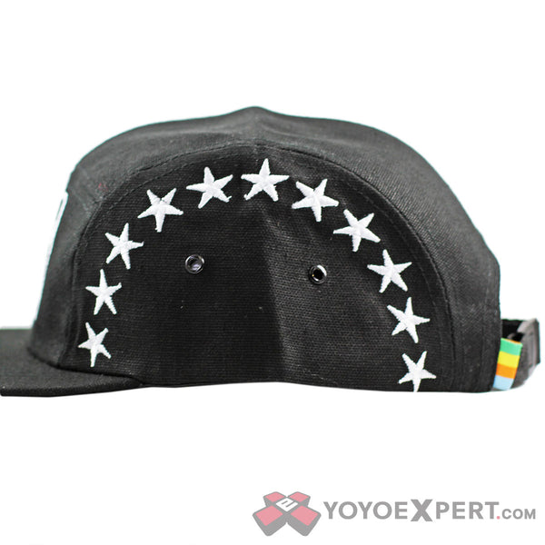"SAVE DETH ""Stars"" 5 Panel Hat-3"