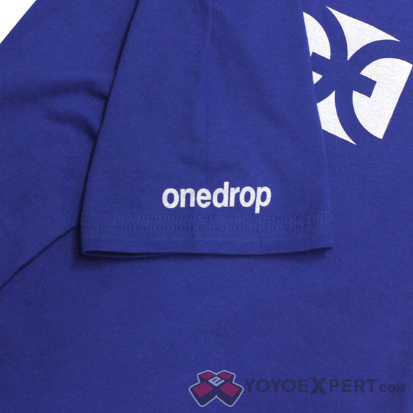 One Drop Blue Logo T-Shirt-3