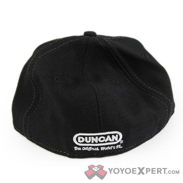 Duncan Genuine Hat - Black-3