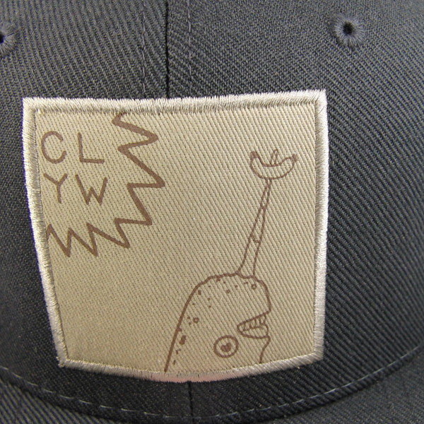 CLYW Gnarwhal Snap-back Hat-4
