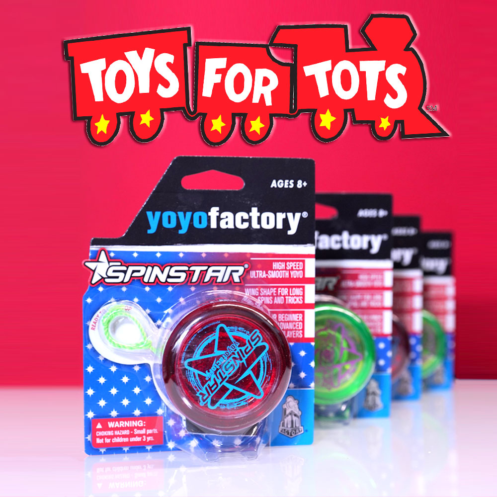Toys For Tots 2016 Donation Yoyoexpert