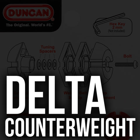 Delta Adjustable Counterweight