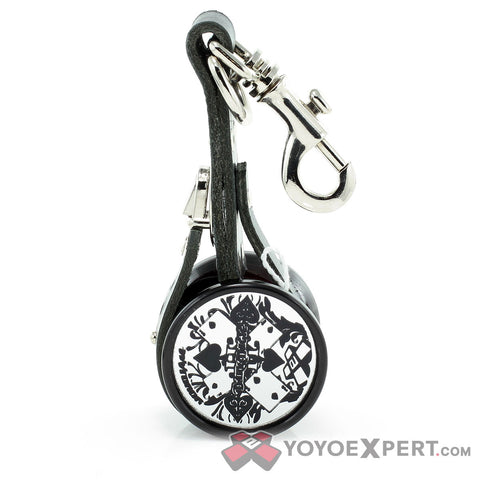Designer Leather Yo-Yo Holder