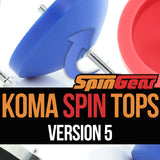 Koma Spin Top - Version 5 - No Weight Ring