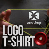 One Drop Gray Logo T-Shirt