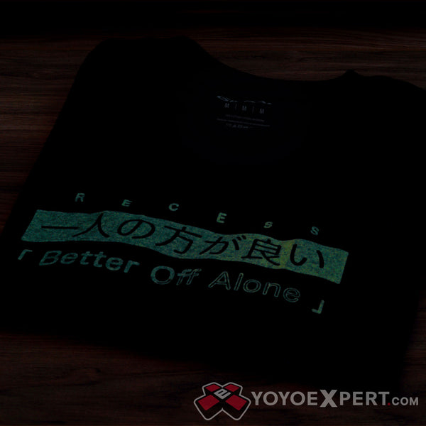 Better Off Alone - Glow In the Dark T-Shirt-3