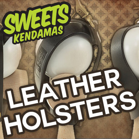 Sweets Leather Kendama Holster