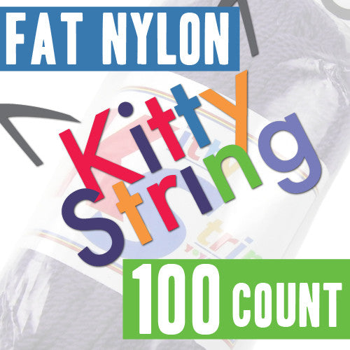 Kitty String - 100 Count (Fat Nylon)-1