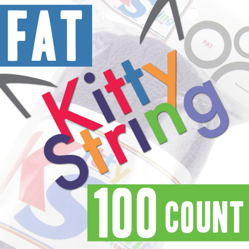 Kitty String - 100 Count (Fat)-1