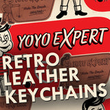 YoYoExpert Retro Leather Keychain