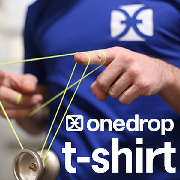 One Drop Blue Logo T-Shirt-1