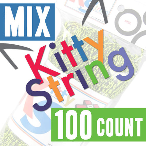Kitty String - 100 Count (MIX Colors)