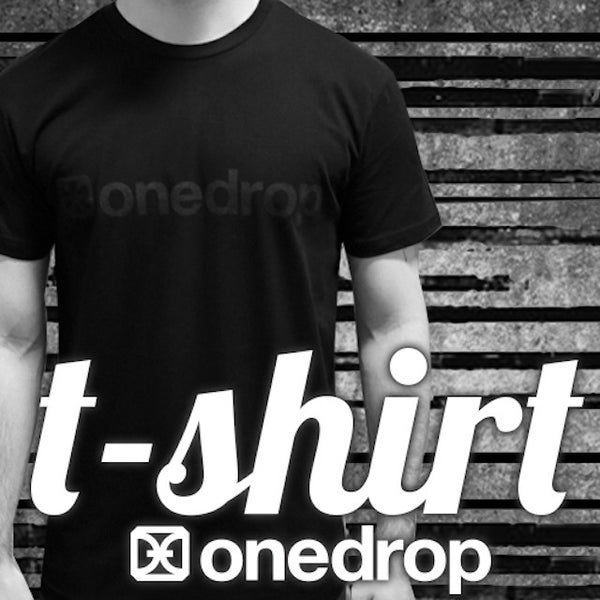 One Drop Blackout Logo T-Shirt-1