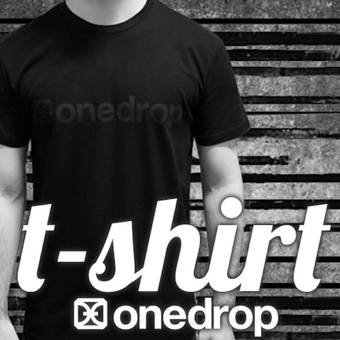 One Drop Blackout Logo T-Shirt