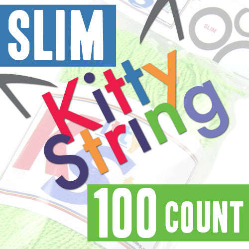 Kitty String - 100 Count (Slim)