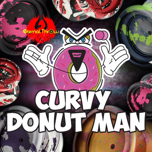 Eternal Throw Curvy Donut Man-1