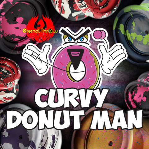 Eternal Throw Curvy Donut Man