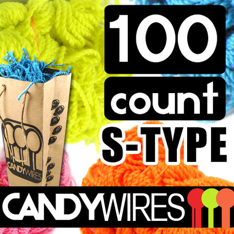 Candy Wires 100 Count S-Type