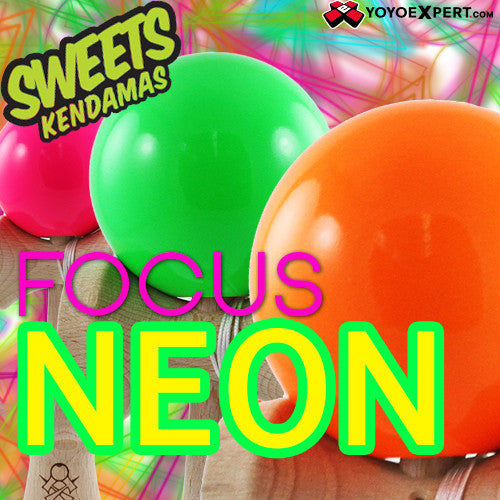 Sweets Kendama - Focus Neon-1