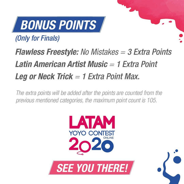 Latin American Online YoYo Contest - October 2020-8