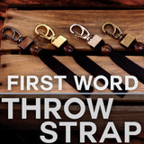 First Word Design Throw-Strap