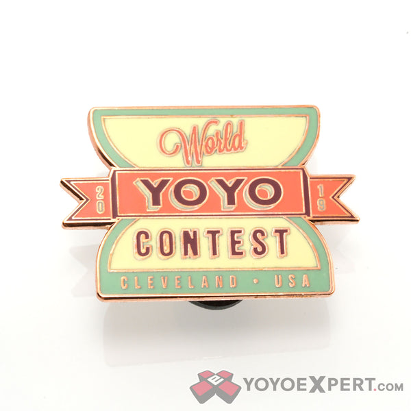 2019 World YoYo Contest Special Edition Pins & Patches-1