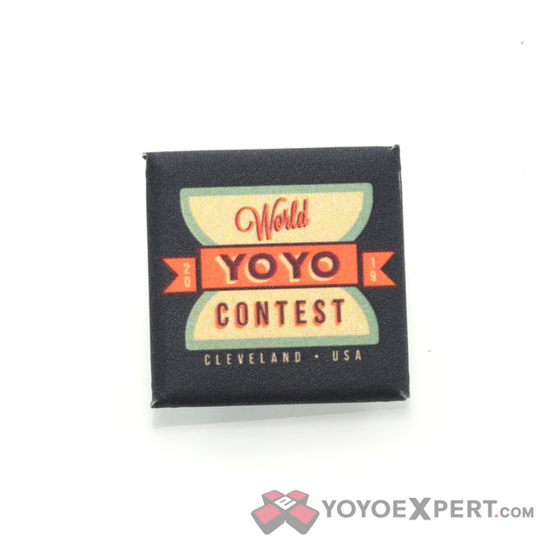 2019 World YoYo Contest Special Edition Pins & Patches