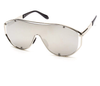 SU- Angular Shield Futuristic Goggle  Aviator Sunglasses