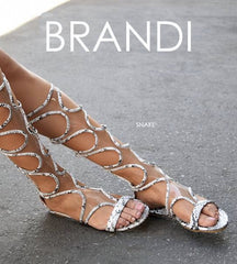 SO ME BRANDI Snake Gladiator Shoe