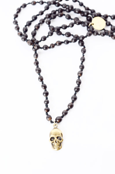 Clay Witt Skull Necklace