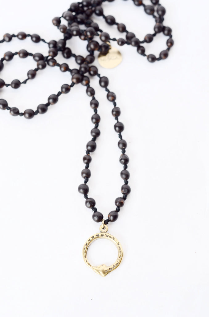 Clay Witt Ouroboros Necklace