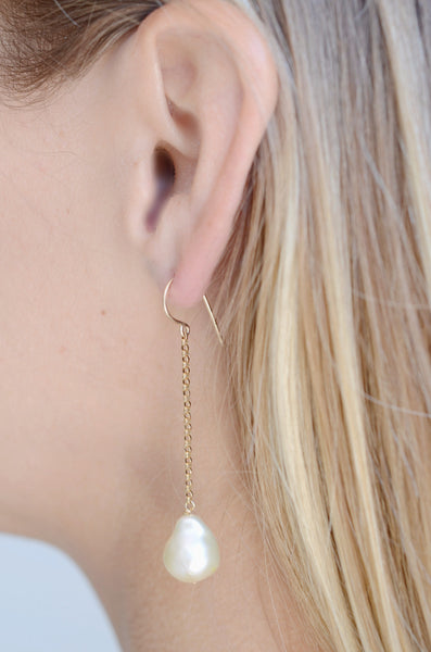 Two Rivers Baroque Pearl Earring