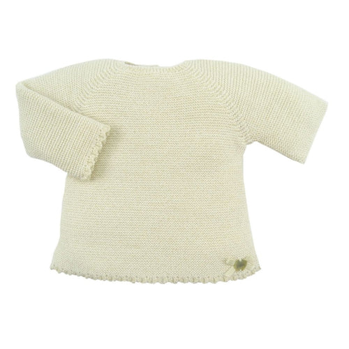 Gold Knit Newborn Fantasia Hat Sweater And Leggings Set