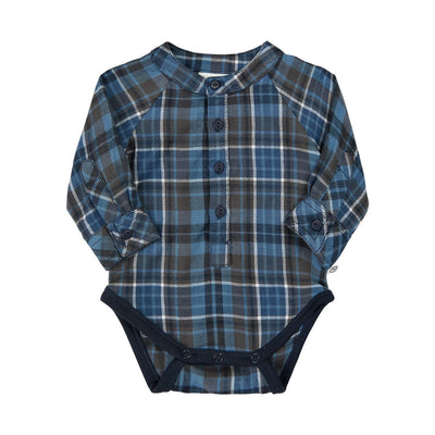 Plaid Ensign Blue Shirt