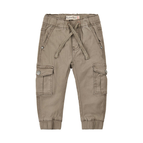 Bungee Cord Twill Pants