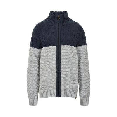 Blue Nights Zipper Sweater