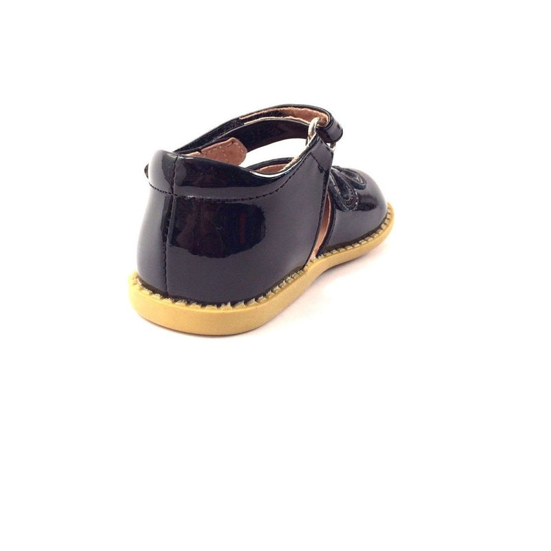 Petal Black Patent Leather Shoes