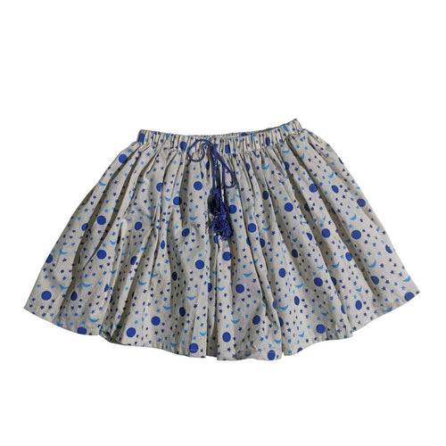 blue star tassel skirt