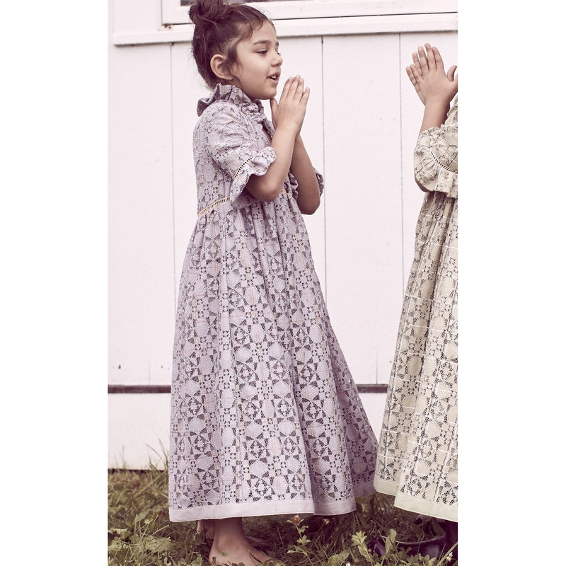 Carriage Smock Maxi Dress