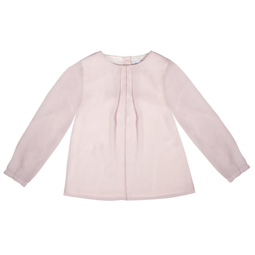 rose woven blouse