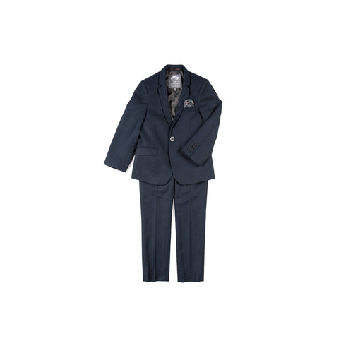 Blue Black Nailshead 2 Pc Mod Suit