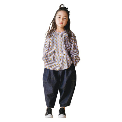 Denim Balloon Pants