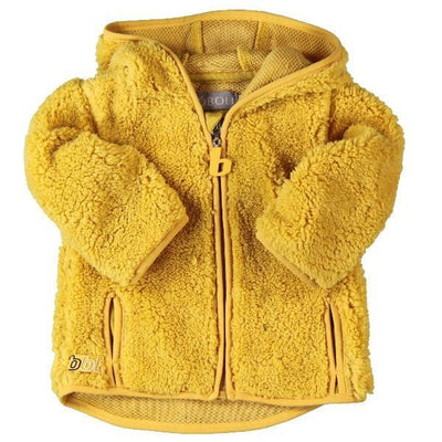 Yellow Fluffy Jacket