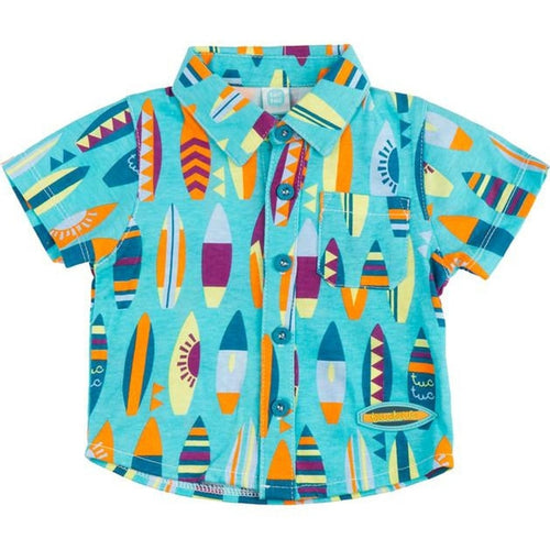 Surf Board Button Up
