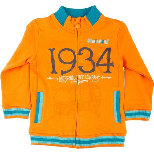 1934 orange sweat jacket