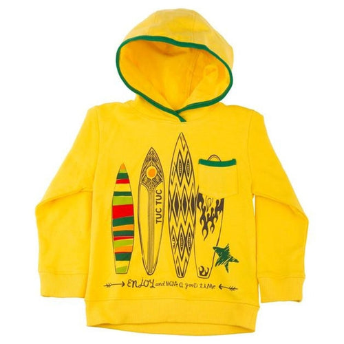 hooded surf sweatshirt