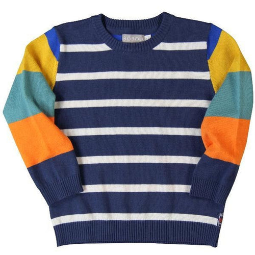 overseas blue sweater