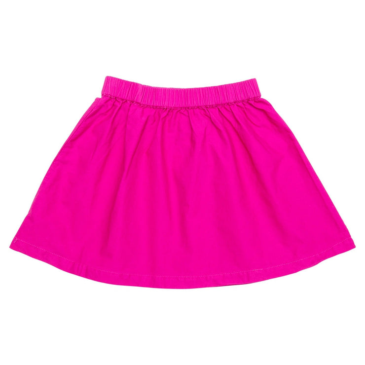 Solid Hot Pink Skirt